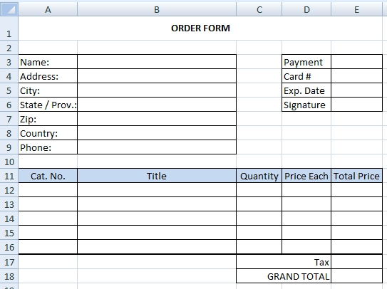 How to create drop down menu in Excel worksheet | Excel-example.com