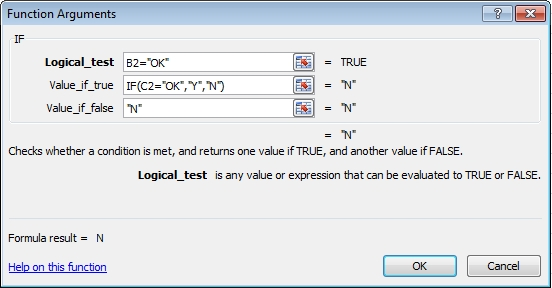 multiple IF functions